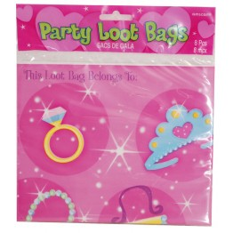 Partypåse Prinsessa 8-pack