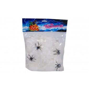 Spindlar med nät