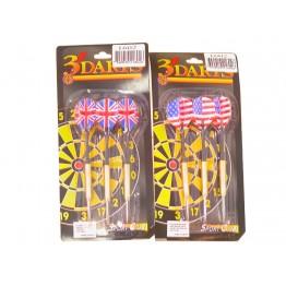 Dartpilar 3-pack