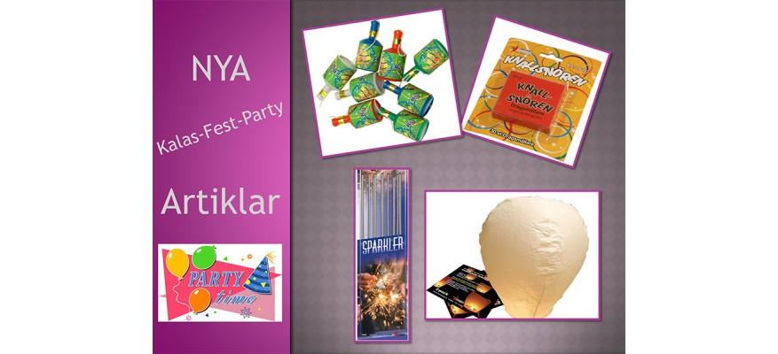 Party Artiklar