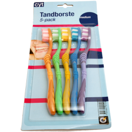 Tandborste 5-pack