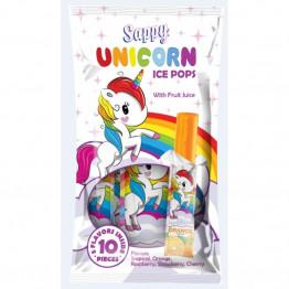 Isglass Unicorn Sappy Frys Själv