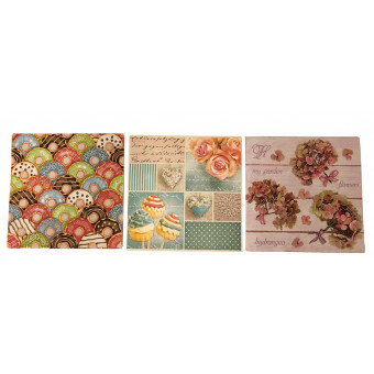 Servett Sweets and Flowers