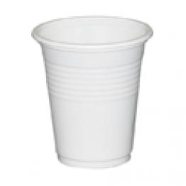 Plastmugg vit