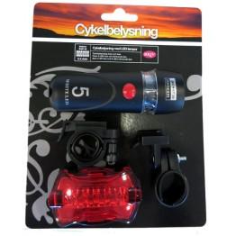 Cykelbelysning LED Fram & Bak