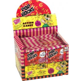 Pop Rocks Jordgubb-Banan 2-pack, 48st i Display