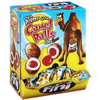 Tuggummi Camel Balls