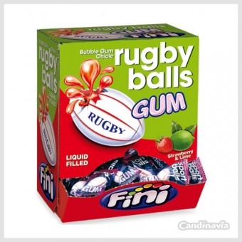 Tuggummi Rugby Balls