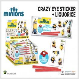 Minions Godisrem + Stickers Display *REA*