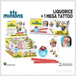 Minions Godisrem + Mega Tattoo Display *REA*