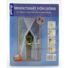 Insektsnät för dörr
