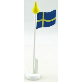 Bordsflagga Sverige 22cm