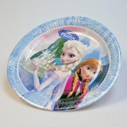 Papptallrik Frozen 23cm 6-pack