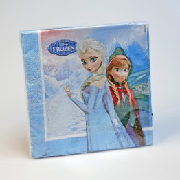 Servett Frozen 33cm 16-pack