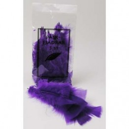 Påskfjäder lila 5-pack