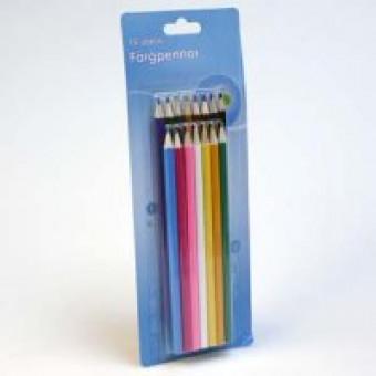Färgpennor 15-pack