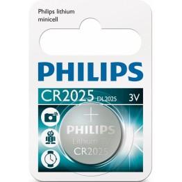 Knappcell Litium CR 2025