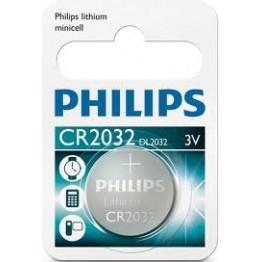 Knappcell Litium CR 2032