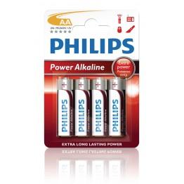 Batteri AA Philips Power Alkaline