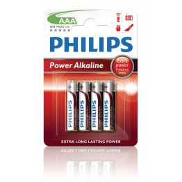 Batteri AAA Philips Power Alkaline