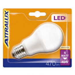 Attralux LED 40W E27 Normal Frostad