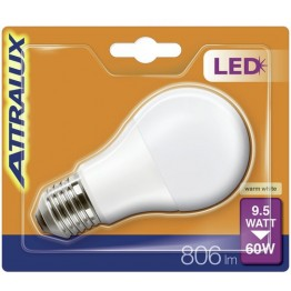 Attralux LED 60W E27 Normal Frostad