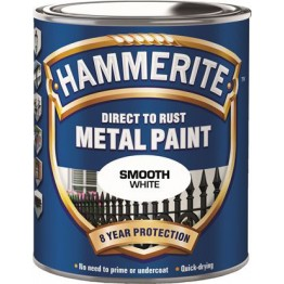 Hammerite Slätlack Vit 250ml