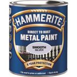 Hammerite Slätlack Silver 250ml