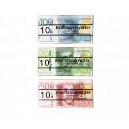 Servett Pengar 10-p